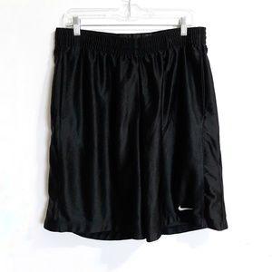 Two pair of XL Nike basketball shorts black, white